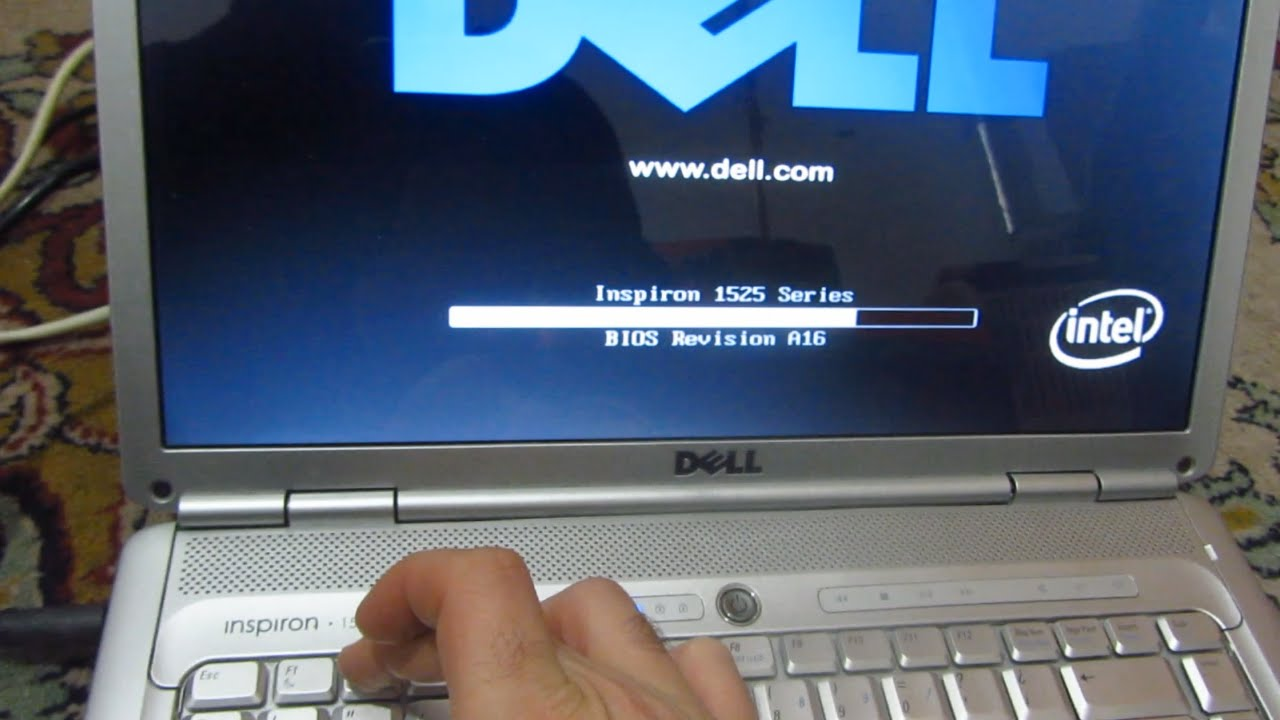 how to reset bios password on dell inspiron 1525 laptop