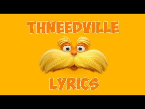 Dr Seuss' The Lorax - Thneedville official FR (Lyrics)