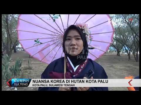 nuansa-korea-di-hutan-kota-palu,-kompastv-palu