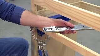 How to install drawer slides videos / InfiniTube