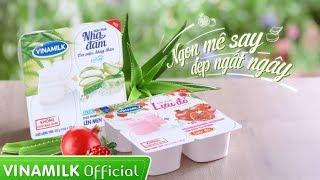 Phim quảng cáo Sữa chua Vinamilk Nha đam & Lựu đỏ - Ngon mê say, Đẹp ngất ngây - PQC039