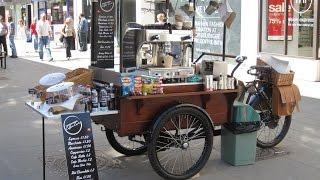Велокофейня , велокафе , вело бар от компании Del Centra -