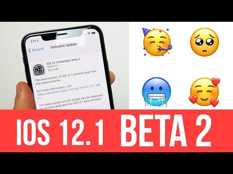 iOS 12.1 BETA 2 RELEASED! 70 NEW Emojis