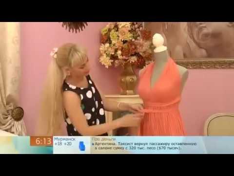 Крой и шитье платья из шифона для начинающих