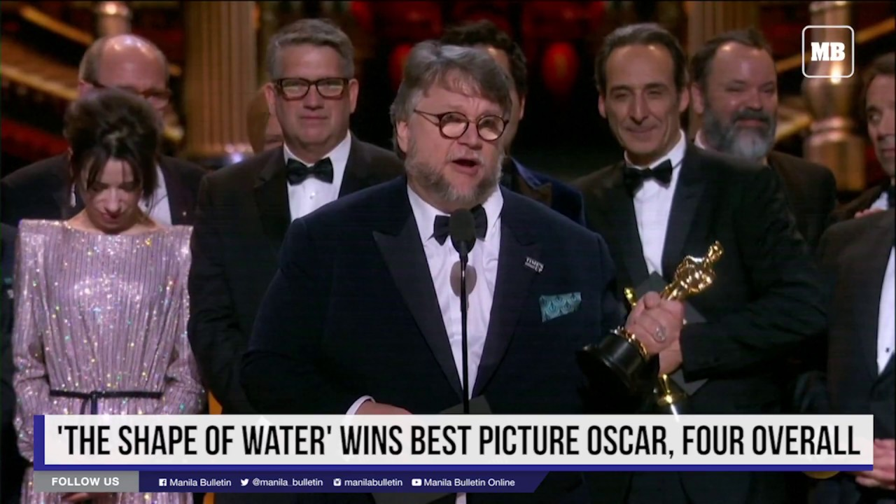 'The Shape of Water' wins best picture Oscar, four overall