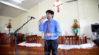 Sahara Mujhko Chahiye by Regi Milton live at Fiji