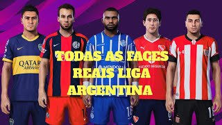 PES 2020 TODAS AS FACES REAIS LIGA ARGENTINA!