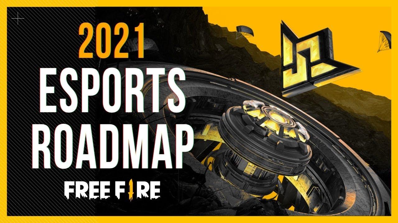 Free Fire Esports 2021 International Roadmap