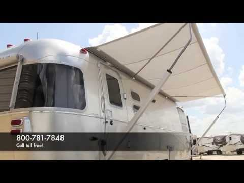 See the New Airstream Power Awning - YouTube