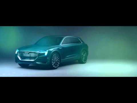 Audi e-tron quattro concept - trailer - electric SUV - german