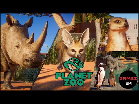 Planet Zoo Africa Pack Animals |