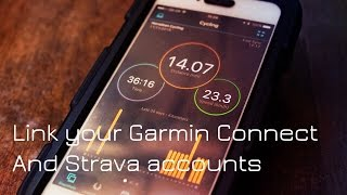 Link Your Garmin Connect And Strava Accounts