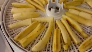 Вяленые бананы. Вялим в электросушилке