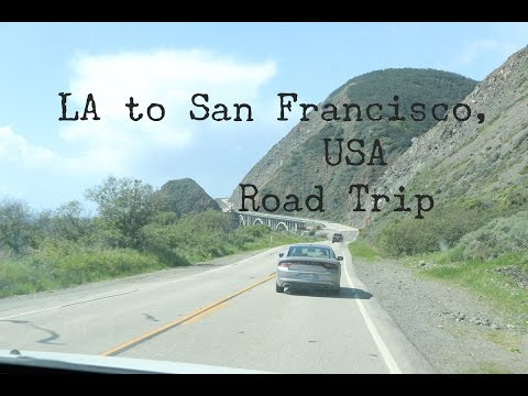 LA TO SAN FRANCISCO TRAVEL VLOG - The Adventures of Pip & Tobes
