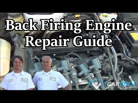 HOW TO FIX AN ENGINE BACKFIRE IN 15 MINUTES!