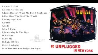 The best songs of Nirvana || MTV Unplugged In New York collection
