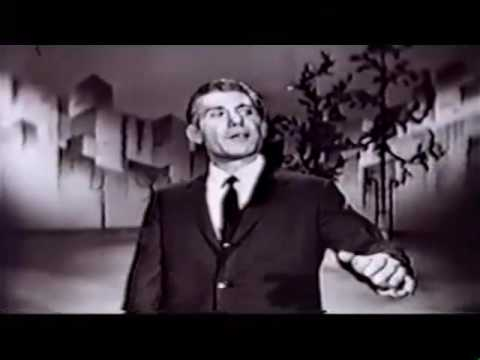 "David Allyn Live on the Steve Allen NBC Sunday Night Show from April 5, 1959  ""Get Out Of Town"""