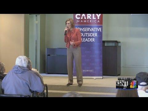 Fiorina files for Kansas GOP Presidential caucus
