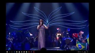 ШОК!!! Голая жо#па на Евровидение 2017/ Naked ass at Eurovision