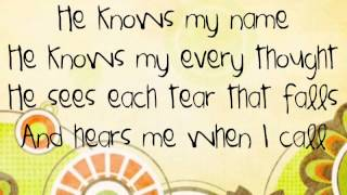 Shout Praises Kids Gospel: He Knows My Name Karaoke