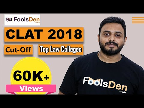 CLAT 2018 Expected Cut off | Top Law Colleges accepting CLAT Score | List of Top NLUs