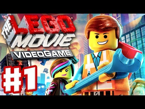 The LEGO Movie Videogame - Gameplay Walkthrough Part 1 - Emmet and Wildstyle (PC, Xbox One, PS4)