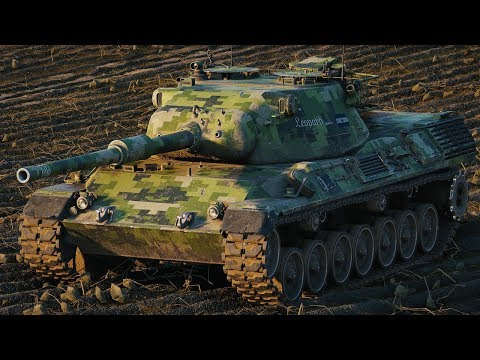 World of Tanks Leopard 1 - 6 Kills 9,3K Damage thumbnail