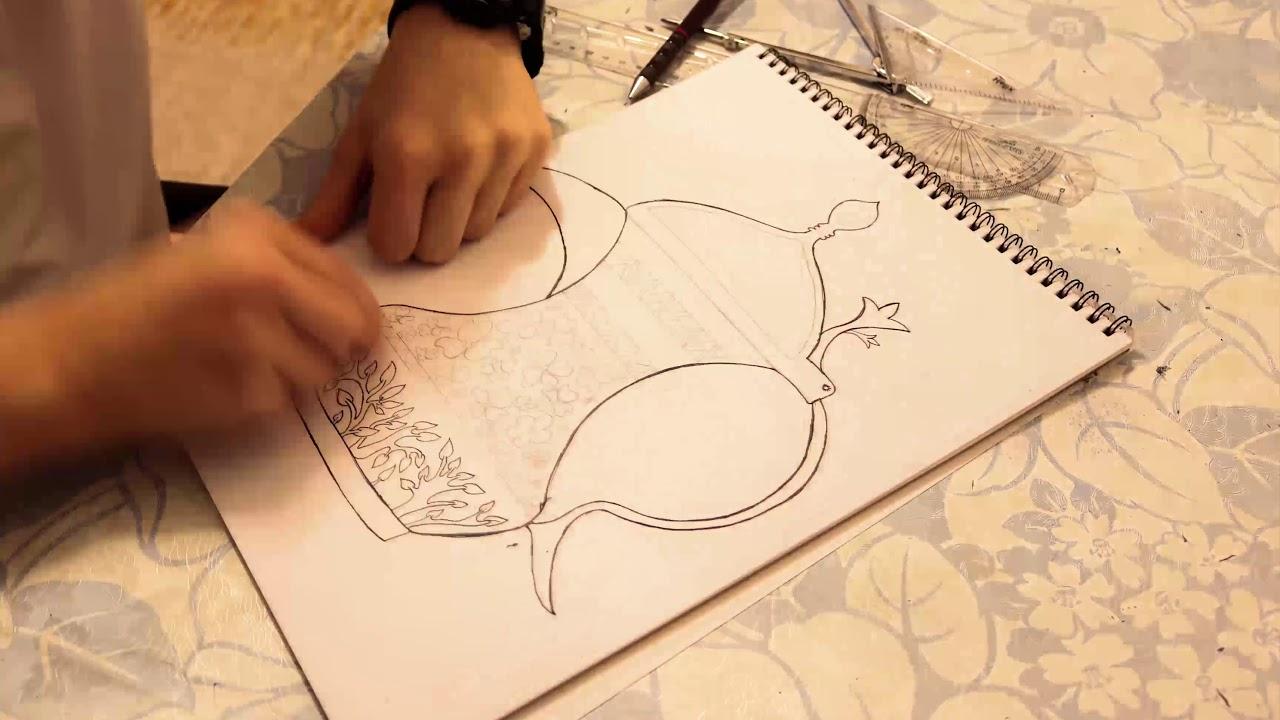 رسم الدلة العربية مسرع Youtube