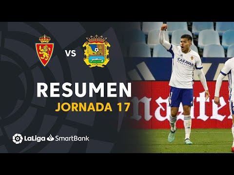 Zaragoza CF Fuenlabrada Goals And Highlights