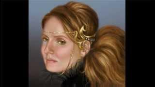 Painting Fantasy Portrait Part3