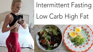 What I Eat in a Day | High Fat  Intermittent Fasting
