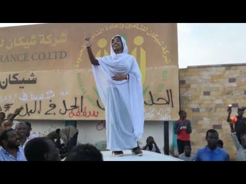 Les Femmes à La Pointe Des Manifestations Au Soudan