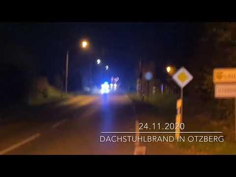 Dachstuhlbrand in Otzberg-Lengfeld