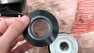 Масляный фильтр Champion C 102 изнутри. (Новый)