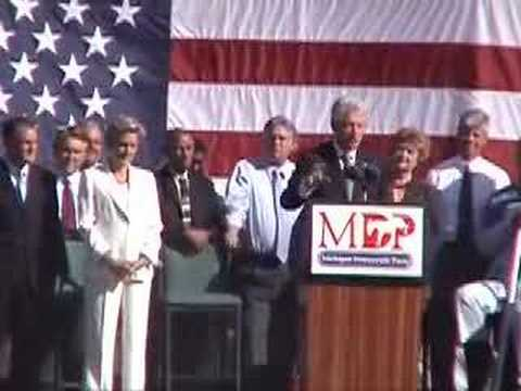 Bill Clinton & Jennifer Granholm