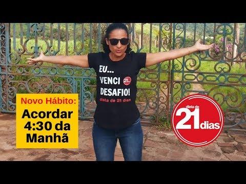 DIETA DE 21 DIAS NOVA ROTINA MILAGRE DA MANHÃ