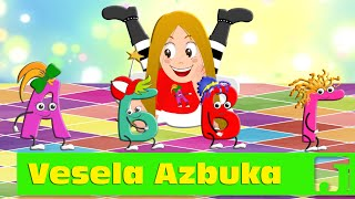 Vesela Azbuka | Dečije pesme | Alphabet song | Jaccoled