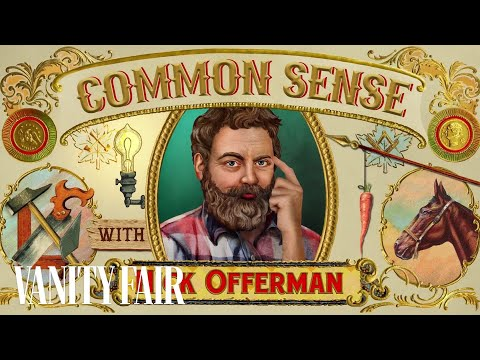 Nick Offerman's Common Sense 1: How to Unite Our Divided Country  Vanity Fair