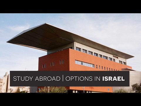 Study Abroad | Options In Israel