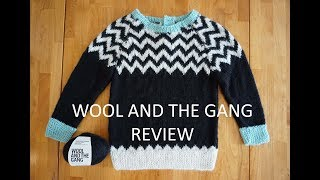 Wool and the Gang | She Loves Wool Baby Sweater