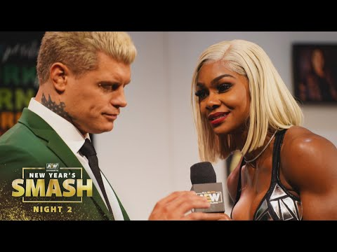 All Hell Breaks Loose on The Waiting Room   AEW New Year's Smash Night 2, 1/13/21