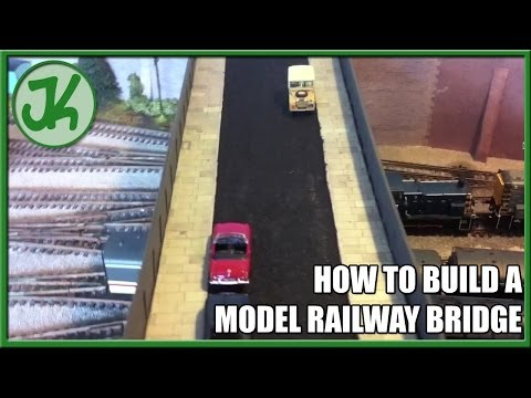How to Build a Model Railway Bridge