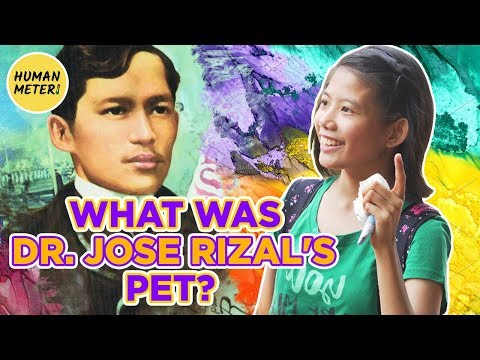 Filipinos Street Quiz: What Was Dr. Jose Rizal's Pet? | HumanMeter