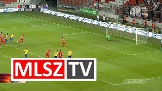 Ugrai Roland gólja a DVTK - MEZŐKÖVESD ZSÓRY FC mérkőzésen