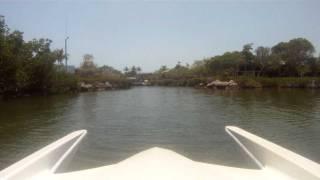 20' Mirage Boats Racing Catamaran with Mercury 2.5 280 EFI