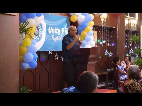 Unity Fiji Launch, Speech By Party Leader Savenaca Narube