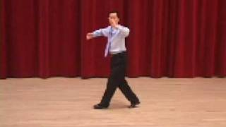 Silver Slow Foxtrot - Natural Turn-Open Impetus-Weave Ballroom Dance Lesson