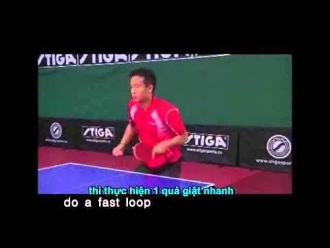 Tập luyện các kỹ năng BB với các tuyển thủ TQ Phần III Trả giao bóng thuận tay Phụ đề tiếng Việt