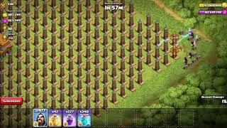 2000 Wizards Vs 2500 Hidden Tesla Clash of Clans Despasito Baby2000 Wizards Vs 2500 Hidden Tesla Cla
