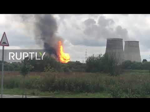 Russia: At least seven injured in massive fire at Moscow Region power plant